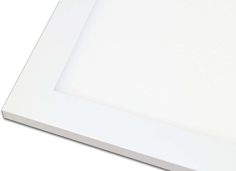 LED Panel RGB + CCT mit Fernbedienung 120x30cm WhiteRainbowplus 36 Watt warmweiß/kaltweiß dimmbar und alle RGB Farben Flimmerfrei (Mit Einbaurahmen) Mit Aufputzrahmen
