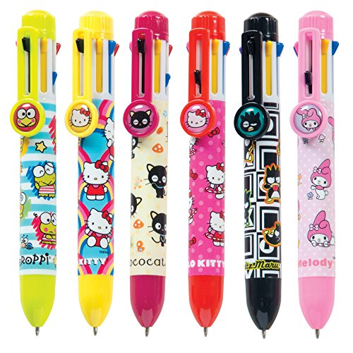 Raymond Geddes & Company, Inc. Hello Kitty And Friends 8 Color Pen 12/Dsp (70252)