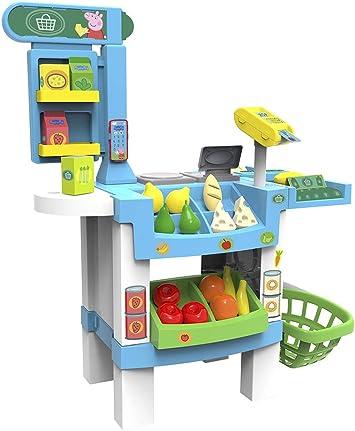 Chicos Supermercado Peppa Pig, Tienda de Juguete con Sonido y con ...