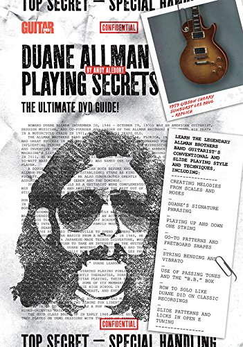 Guitar Playing Dvd (Guitar World -- Duane Allman Playing Secrets: The Ultimate DVD Guide (DVD))