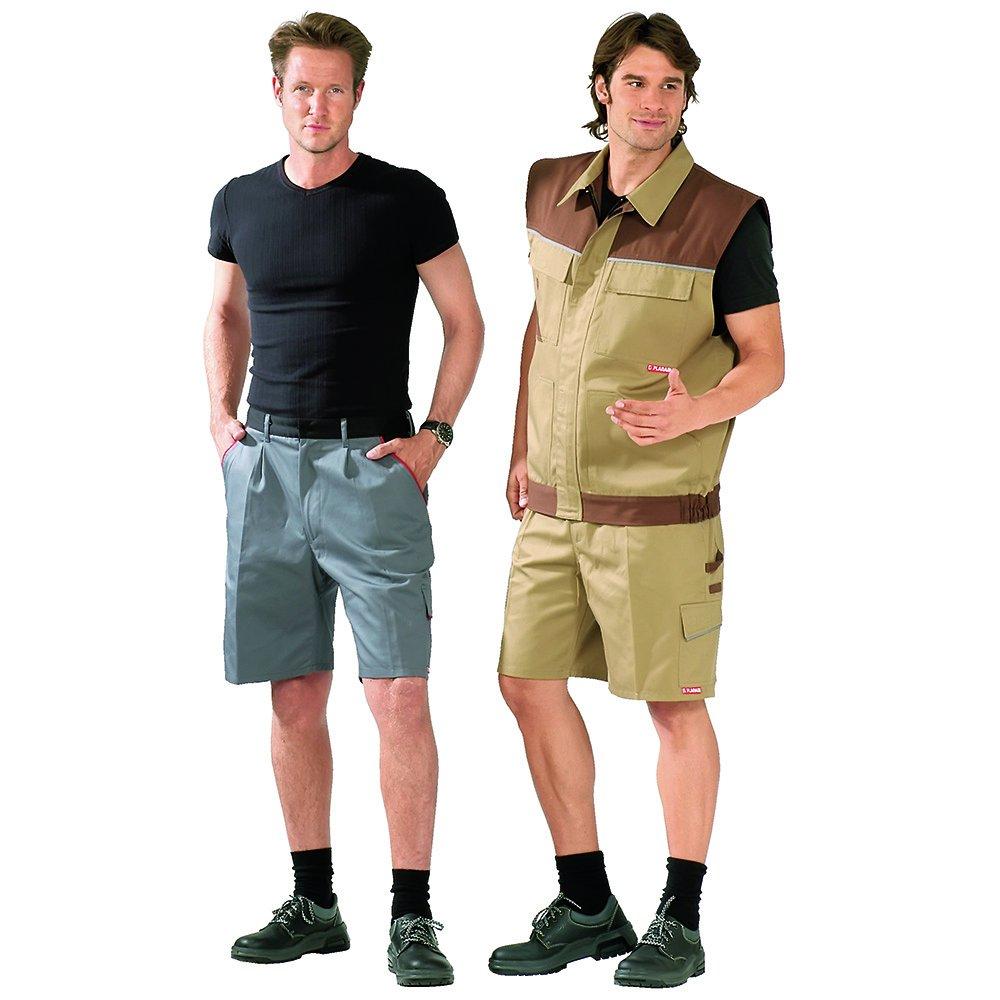 Planam Highline Shorts schiefer//schwarz