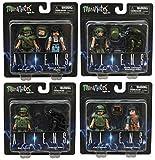 Aliens Minimates Series 1 Complete Set of Four 2-Packs (8 Figures)