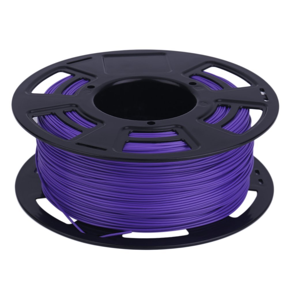 PLA Materiales de impresión 3D de filamento, 1.75mm, 1Kg, para Anet A8 y Anycubic Impresoras 3D, Púrpura