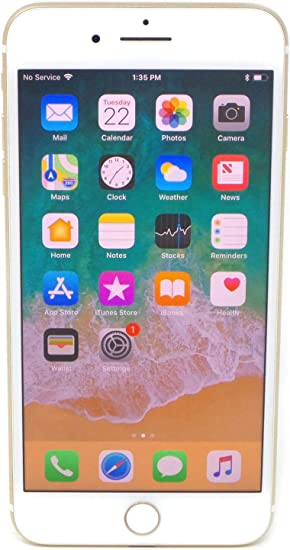 Amazon Com Apple Iphone 7 Plus 256gb Gold For At T Renewed