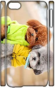 with Poodle Compatible with Apple iPod Touch 6 Fascinating Shells Hard Abs Women