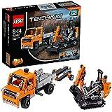 LEGO Technic 42060 - Straßenbau-Fahrzeuge