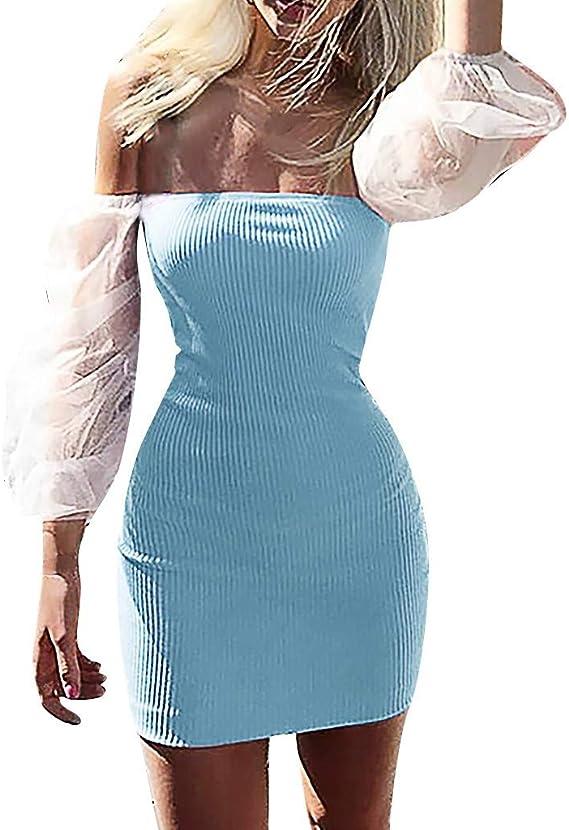 Reooly La Sra Atractiva Hilo de Costura Neta Puff el Conjunto ...