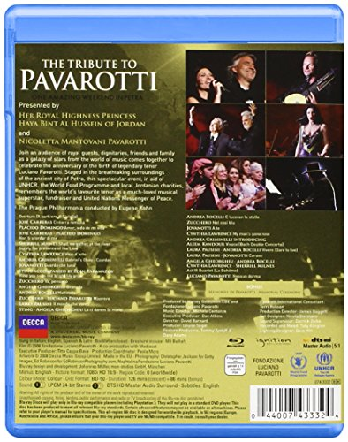 Blu-ray : Cynthnia Lawrence - The Tribute to Pavarotti (, Widescreen)