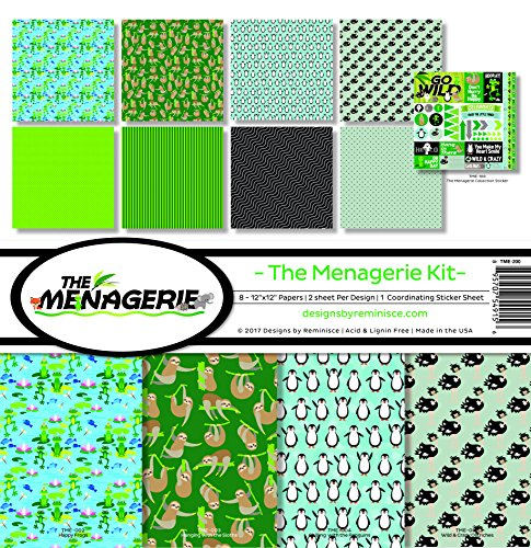 Reminisce The The Menagerie Scrapbook Collection Kit 1 ()