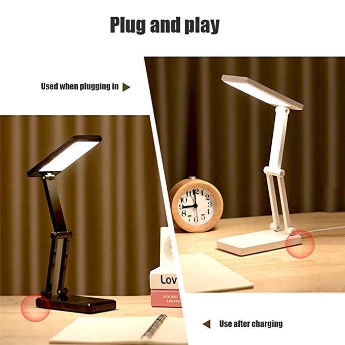 Lámparas De Mesa Modernas LED Protección de ojos Lámpara de mesa ...