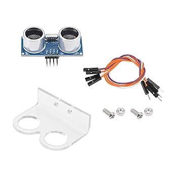 sourcing map Module /à Ultrasons Capteur Distance pour Robot DIY HC-SR04P 2 Paquet