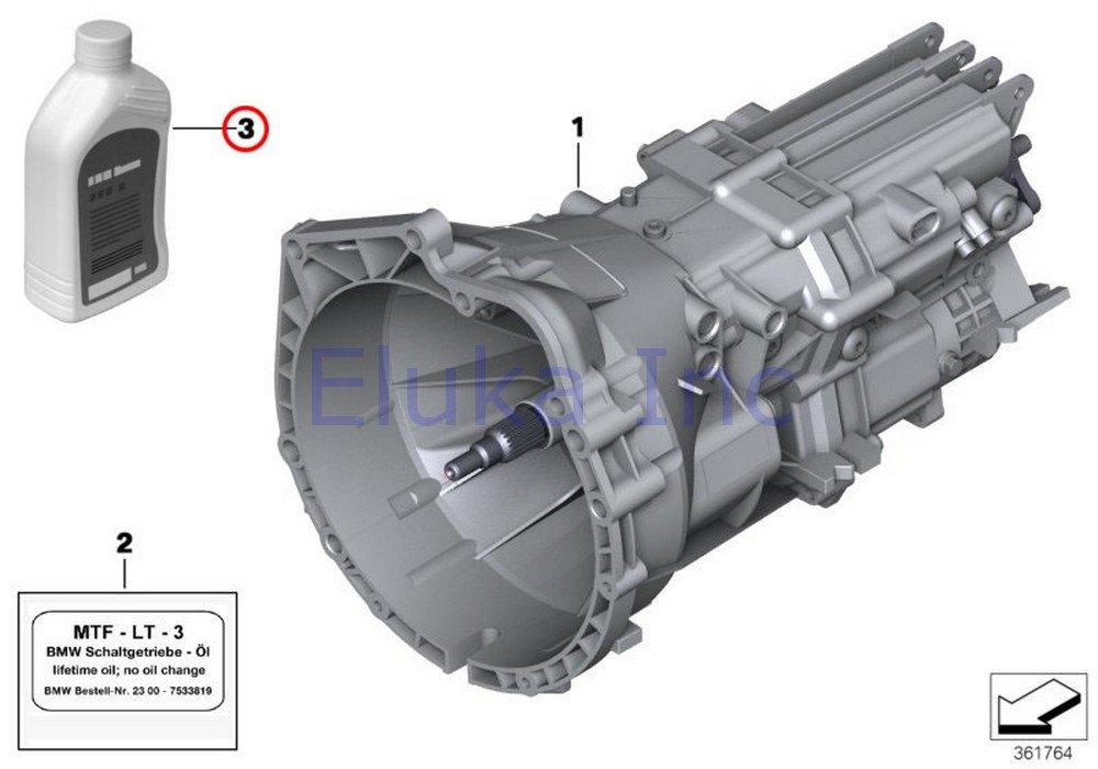 Amazon com: BMW Manual Transmission Fluid - Sae 75W-80