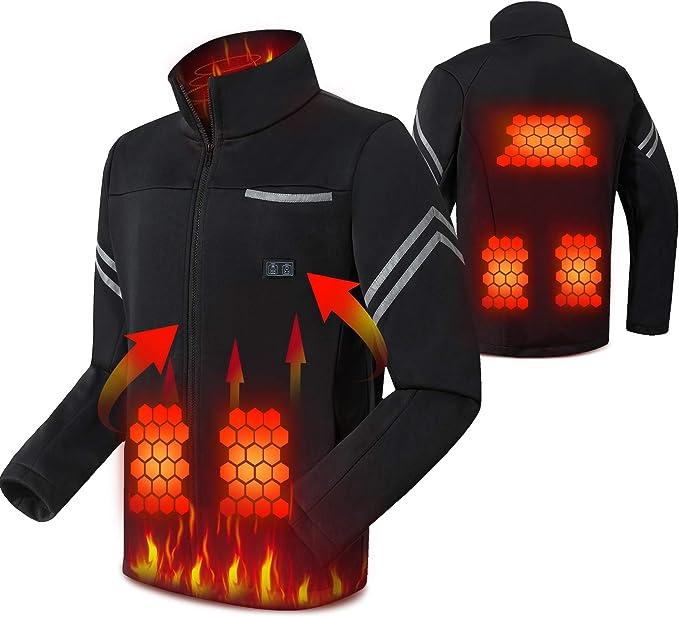 fleece jacke elektrisch aufgeladen