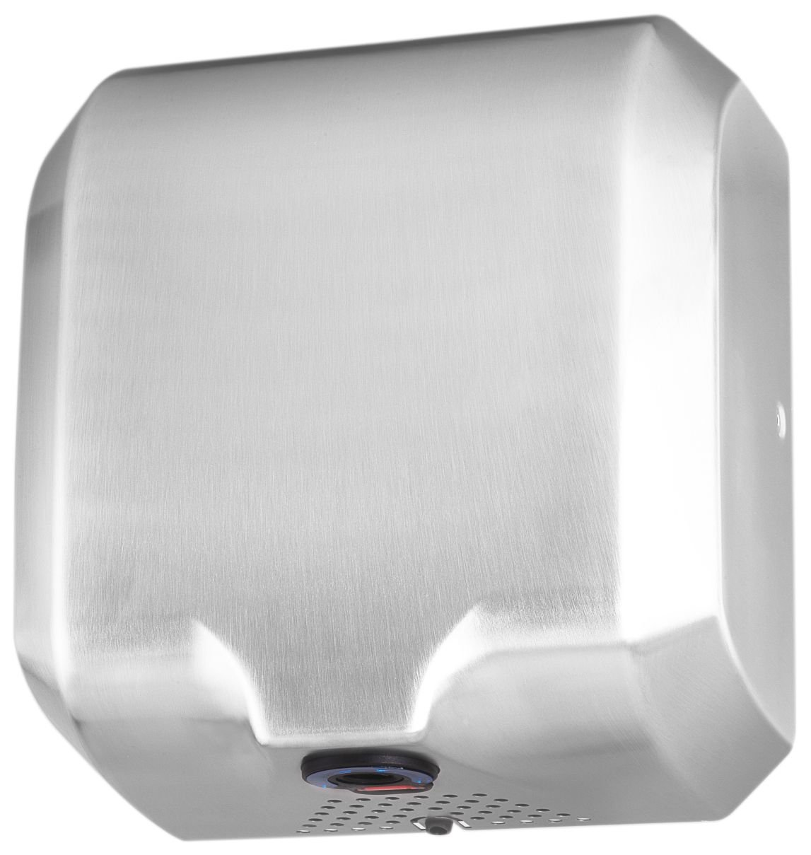 ASIALEO Heavy Duty Commercial High Speed Electric Automatic Hot Hand Dryer,110V/1800W,Brushed Stainless Steel 304.
