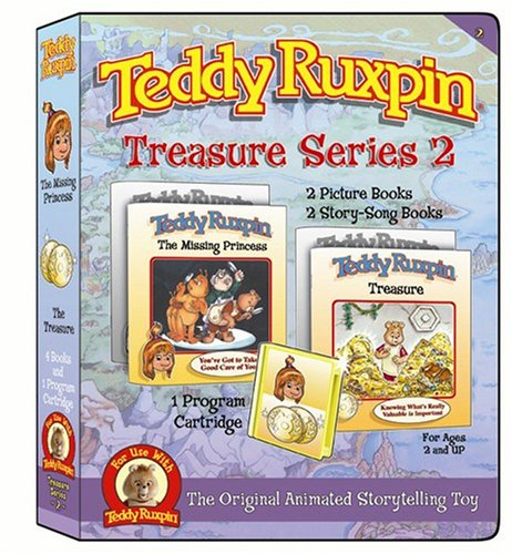 Treasure Series 2  Includes Two Adventures  Animation Cartridge And Four Books