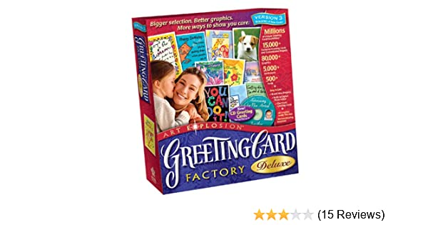 Amazon greeting card factory deluxe 30 m4hsunfo