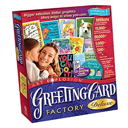 Amazon greeting card factory deluxe 30 greeting card factory deluxe 30 m4hsunfo