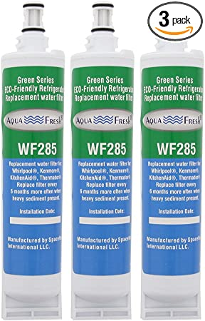 Aqua Fresh Water Filter Fits Whirlpool 4392857 Refrigerators 3 Pack