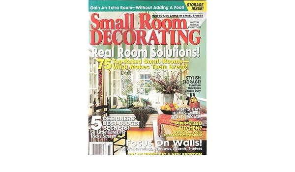 Small Room Decorating Country Almanac #22: Amazon.com: Books