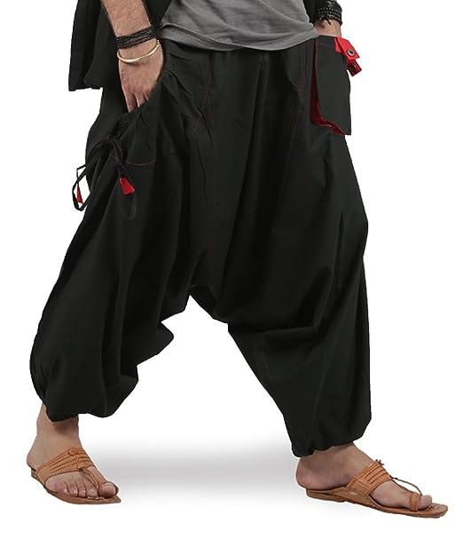 womens army trousers Cotton Striped Genie Harem Baggy Uk Aladdin Gypsy Trousers Yoga Pants Free Size