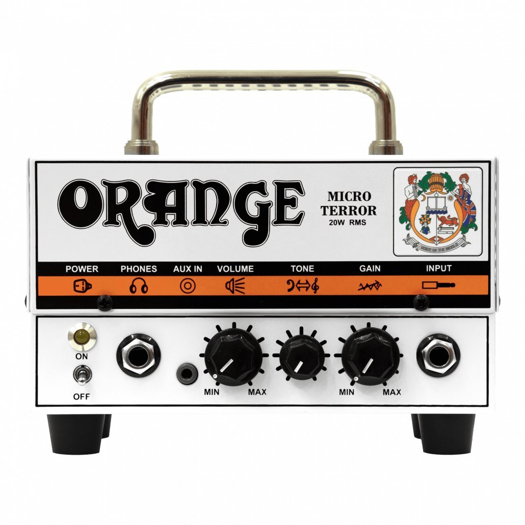 ORANGE Micro Terror 20W Mini Guitar Head, Solid State ギターアンプヘッド MICRO TERROR20 Orange B00DV9H47E