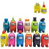 NUMONE Among US Merch Figures Set Juego de figuras de juego, figuras de juego lindas figuras de dibujos animados de la colecc