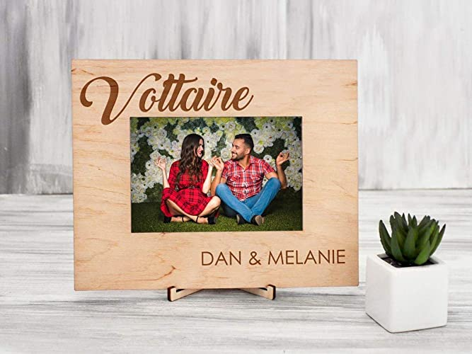 Personalized Photo Frame Housewarming Gift Keepsake Gift For Couple Custom Engraved Wooden Picture Frame Anniversary Gift For Wife Family Frame