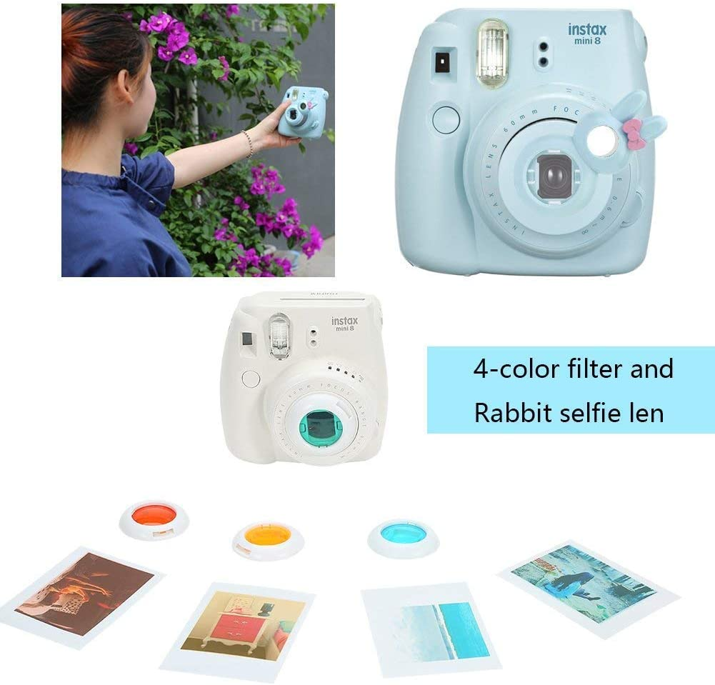 with Shoulder Strap and Pocket for Photo Films Accessories//Selfie Lens//Battery Katia Hard Case EVA Bag for Fujifilm Instax Mini 9 Instant Camera Black Fujifilm Instax Mini 8 Instant Film Camera