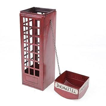 32 Cm Telefonzelle Weinregal High Retro Europaischen Stil Malerei