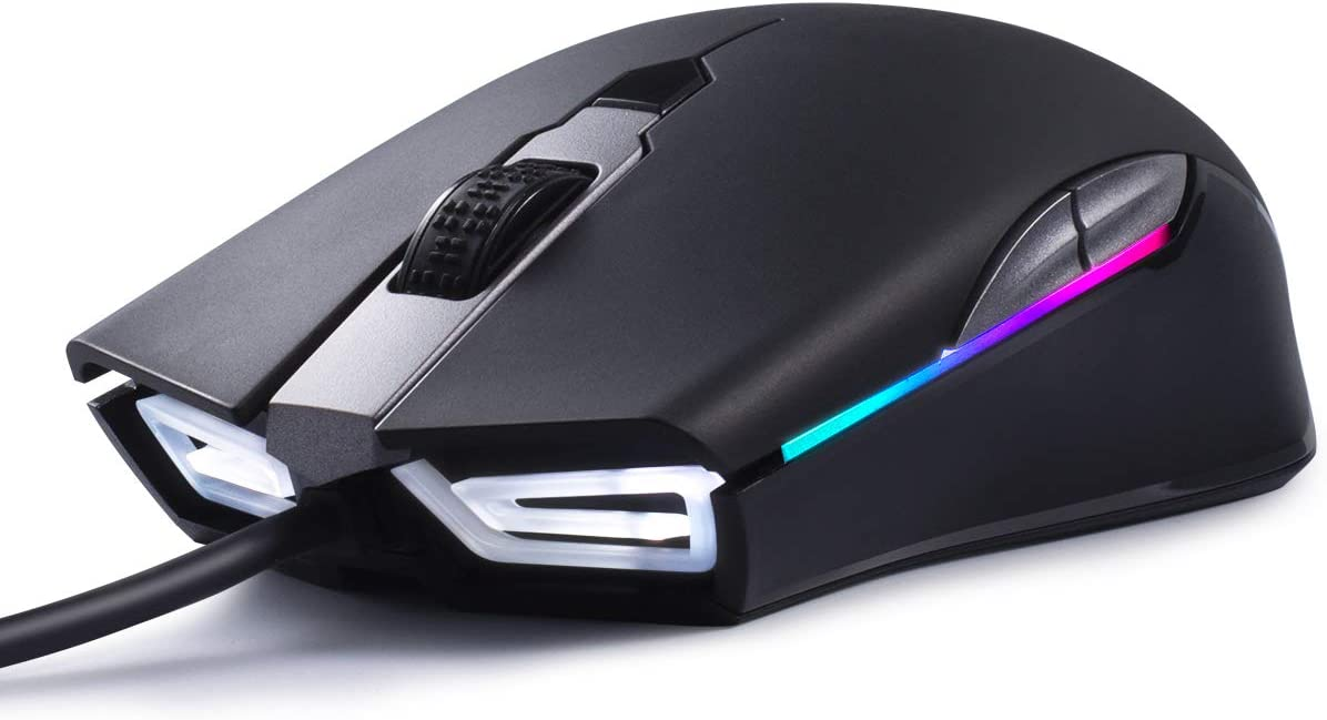 ABKONCORE Gaming Mouse A900 [16,000 DPI], Wired, USB Computer Mice...