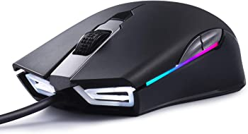 Abkoncore A900 Wired Gaming Mouse with 8 Programmable Buttons