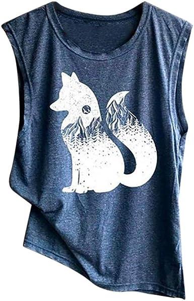 Luckycat Camisetas Mujer Manga Corta Gatos Camiseta con Estampado De Gato para Mujer Camisetas Deporte Mujer Talla Grande Camisetas Tirantes Mujer Tallas Grandes Patrones Multiples 2019: Amazon.es: Ropa y accesorios