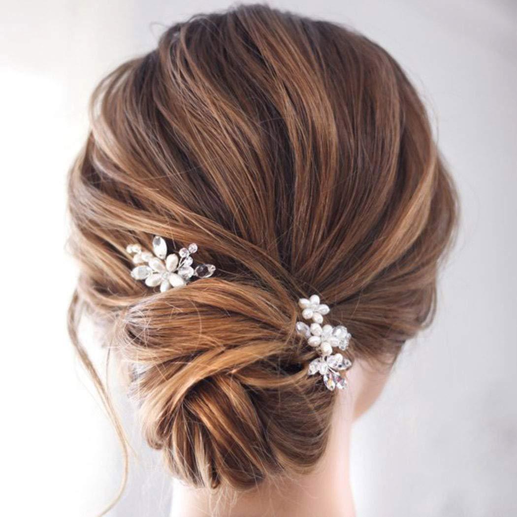 Pearl Hair Pin Bridal Hair Pins Hair Pins Wedding Hair Pins Crystal Hair Pin Pearl Hair Pins Bridal Hair Pin Beaded Crystal Hair Pins