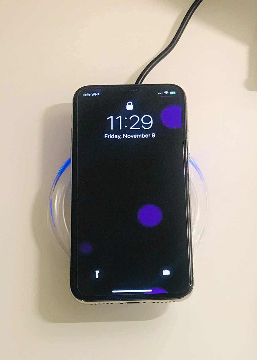 Mmmiles LLC Universal Wireless Charger Qi Charging Pad Special Deal for Limited time Only Cargador Inalambrico