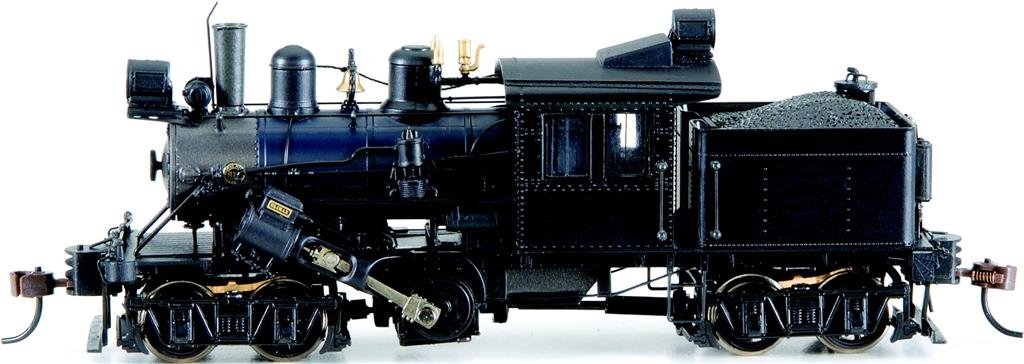 Bachmann Industries Trains 50-Ton Two Truck Climax Dcc Equipped Painted Unlettered Black Ho Scale Steam Locomotive