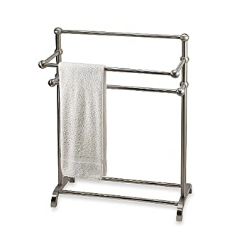 Amazoncom The Classic 3 tier Satin Nickel Towel Stand Home Kitchen
