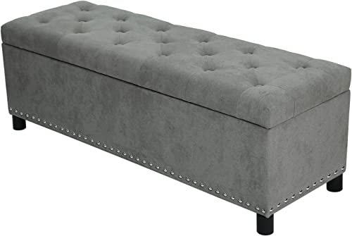 Homebeez Storage Ottoman Bench