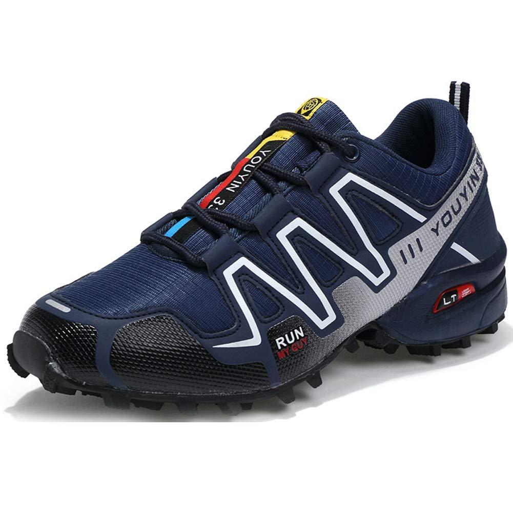 Acquista online Scarpe da Escursionismo Scarpe Sportive da off-Road in Mesh da uomo-Royalblue-40 miglior prezzo offerta