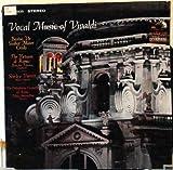 Vocal Music of Vivaldi, Verrett, Fasano, Antonellini, LSC 2935