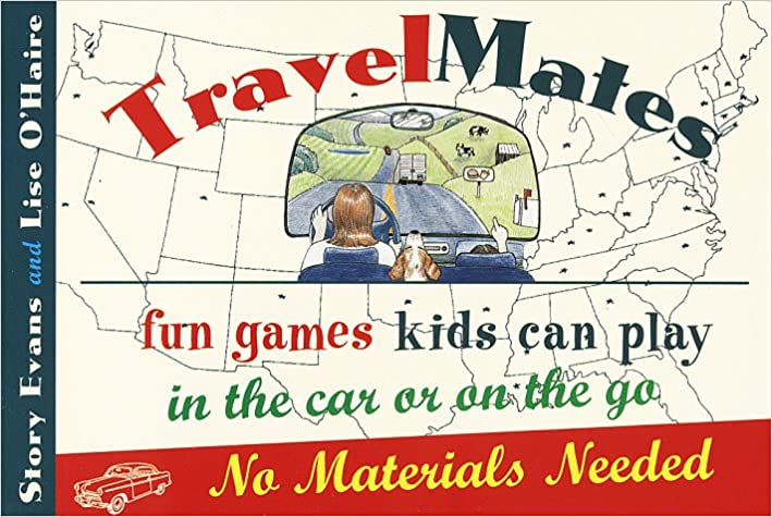 Book Travelmates: Fun Games Kids Can Play in the Car or on the Go--No Materials Needed