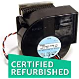 (CERTIFIED REFURBISHED) Genuine Dell CPU Blower Fan with Heatsink for OptiPlexSystems Part/Model Numbers: N1240, D0079, 7R769, 5P573, 7P182, T5098, DB9733-12HBTL, BG09038044-VTL