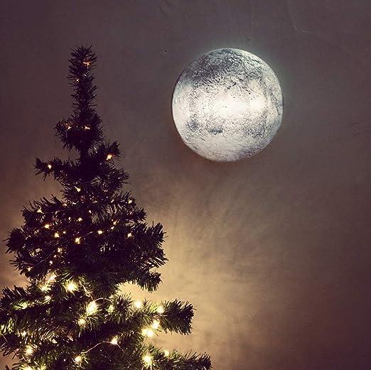 Fernbedienung Mond Nachtlicht, Moon Light Lampe Kinderzimmer Leuchte  ,Wandleuchte Lampe