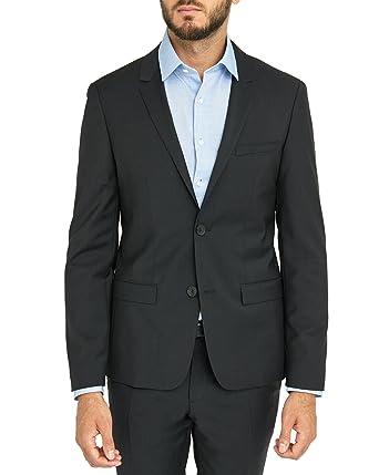 Calvin Klein - Chaqueta de traje - para hombre Negro negro ...