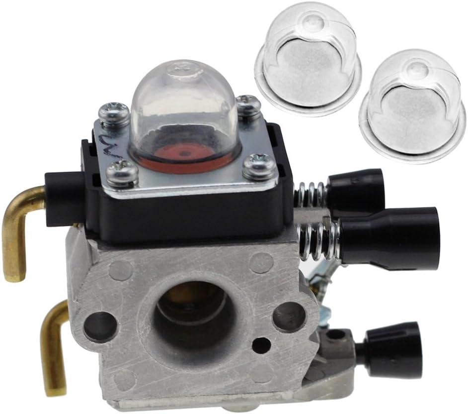 Amazon.com: HIPA con 2 cebador para carburador para Stihl ...