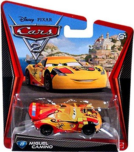 Amazon Com Disney Pixar Cars 2 Movie Series Mattel 1 55 Scale Die