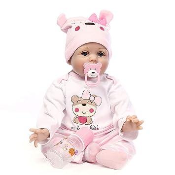 Amazon.com: Tianya – Muñecas de bebé renacido de 21.7 in con ...