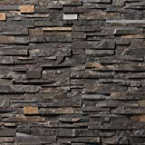 Koni Stone Citali Series Midas 5 sq. ft. Panel 6 in. x 24 in. x 0.80 in. – 1.30 in. Natural Stone