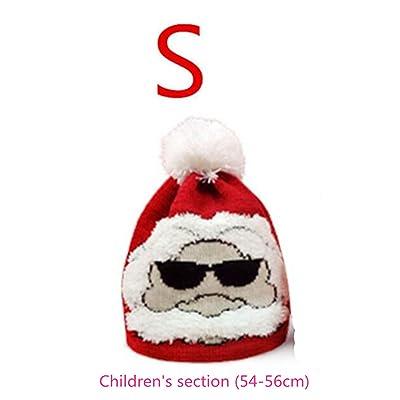 6953136826bd Chapeaux tricotés de Noël, Stillshine - cadeau pour l adulte ou les enfants  baggy