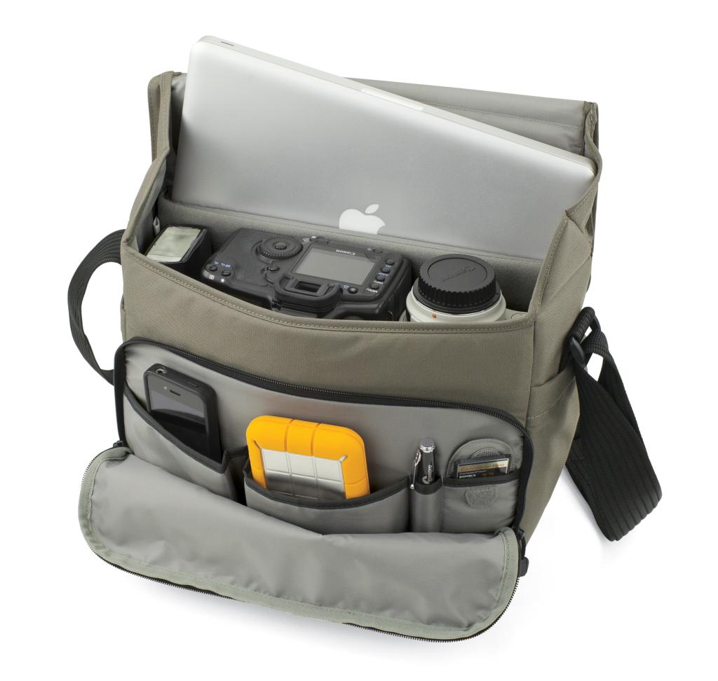 Lowepro LP36416 Event Messenger 250 Large Shoulder Camera Bag with ...