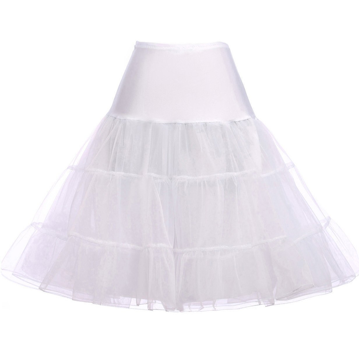 Paul Jones®Dress Women 50s Petticoat Skirts Tutu Crinoline Underskirt Plus Size by GRACE KARIN
